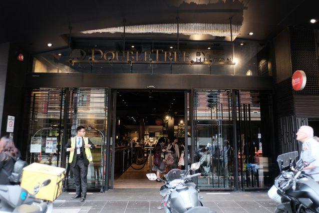 メルボルンの中心業務地区(CBD)にあるDoubleTree by Hilton Melbourne