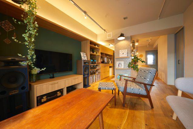 仲の良い4人家族(ご夫婦+お子様2名)のオーナーから依頼されたマンションリノベーションの事例 (3)