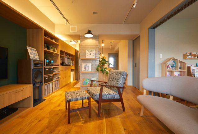 仲の良い4人家族(ご夫婦+お子様2名)のオーナーから依頼されたマンションリノベーションの事例 (2)