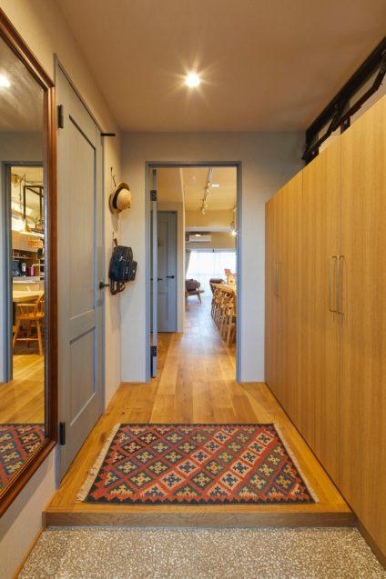 仲の良い4人家族(ご夫婦+お子様2名)のオーナーから依頼されたマンションリノベーションの事例 (5)