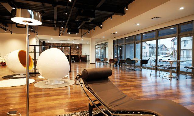 アクティビティーベースドワーキングを念頭においた、ハートランドデーター本社ソフトウェアセンター1階ワークラウンジ (2)