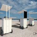 The Stand / 屋台のデザイン制作 /  Designcafe food stall series